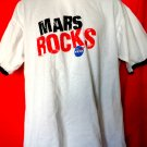 MARS ROCKS NASA Ringer T-Shirt Size XL