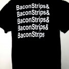 Bacon Strips T-Shirt Size Large