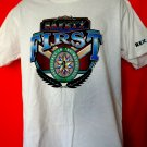 Safety First T-Shirt Size Large Rexam