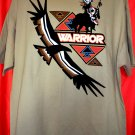 American Indian Warrior T-Shirt Size XXL Shoshone Rose Casino Lander, WY