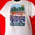 Earth Day is Every Day T-Shirt Size XL