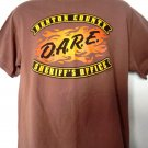 D.A.R.E. Benton County MN Sheriff's Office T-Shirt Size Large Minnesota