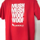 Rare Vintage 1990 Dog Sled Antarctica T-Shirt Size Large Mush Woof