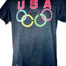 Olympics Rings T-Shirt Size Medium