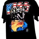 Vintage 1996 KISS Alive Worldwide Destroy Tour in Milwaukee Wisconsin T-Shirt Size XL