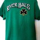 River Bats Shamrock T-Shirt Size Large