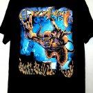 OzzFest 2002 T-Shirt Size XL Ozzy Osbourne Rob Zombie