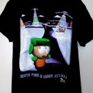 "Vintage 1998 South Park T-Shirt Size Large ""South Park Is Under Attack"""
