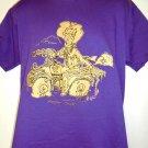 Vintage 1990 Funny MODERN COWBOY T-Shirt Size Large