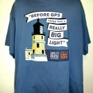 Split Rock Lighthouse Minnesota MN 100th Anniversary T-Shirt Size XXL