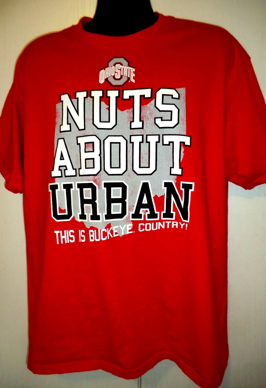 Ohio State Nuts About Urban This is Buckeye Country! T-Shirt Size XL