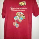 Minnesota Festival of Nations T-Shirt Size Large