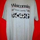 Wisconsin You're Among Cows T-Shirt Size XXL