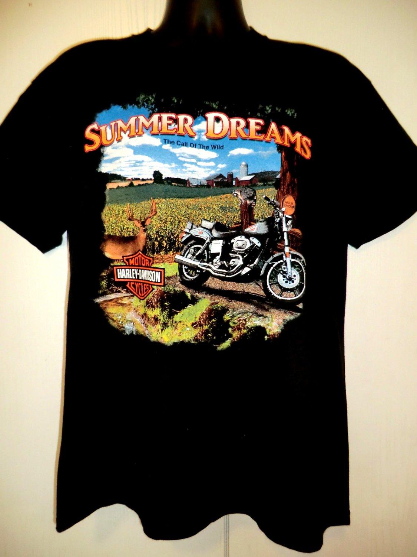 Harley Davidson Medium T-Shirt SAVANNAH Dealer River Street 2001 Beautiful!