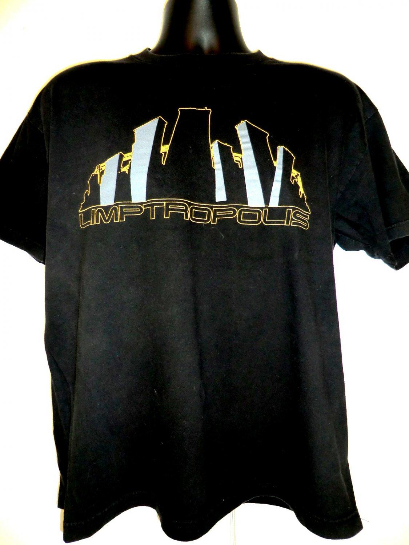 LIMPTROPOLIS Limp Bizkit Concert Tour Large  T Shirt Vintage 1999