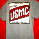 Semper Fidelis USMC Since 1775 T-Shirt Size Large