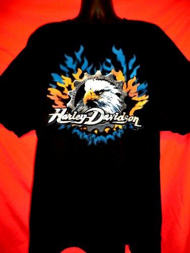 Harley Davidson Dealer T-Shirt Size XXXL Map California Anaheim Fullerton