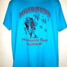 Hanks Huff 'N Puff Mosquito Run Williston North Dakota T-Shirt Size Large