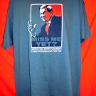 Miss Me Yet? How's the Hopey-Changey Thing Working Out For 'Ya? T-Shirt Size XL George Bush