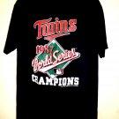 Vintage 1987 Minnesota Twins T-Shirt Size XL