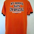 My Momma Says I'm Special Bubba Gump Shrimp T-Shirt Size Medium Long Beach