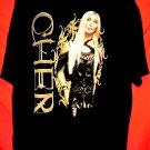 CHER 2004 Concert Tour T-Shirt Size XL