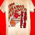 Vintage 1994 Arkansas Razorbacks T-Shirt National Champions Size Large