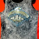 Harley Davidson Rules the Road Tank Top Size XL