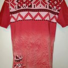Ugly Sweater T-Shirt Size Large RETRO DISTRIKT