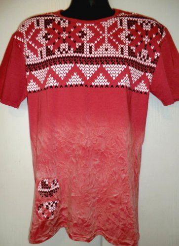 Ugly Sweater T-Shirt Size Large RETRO DISTRIKT