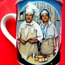 1989 The Honeymooners TV Chefs  Hamilton Collection  Collectable Coffee Mug Cup