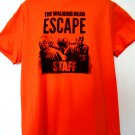 The Walking Dead ESCAPE Staff T-Shirt Size XL