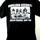 Funny Homeland Security Fighting Terrorism Since 1942 T-Shirt Size Medium