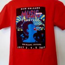 2003 New Orleans Music Festival T-Shirt Size Medium