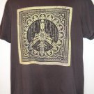 OBEY T-Shirt Record LP Jacket Graphic Size Large