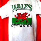 New Souvenir T-Shirt from WALES Size Large