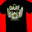 DARE D.A.R.E T-Shirt Camo Resist Drugs and Violence T-Shirt Size Medium