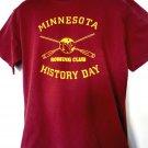 University of Minnesota ROWING CLUB T-Shirt Size Large