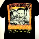 Rare DEAD KENNEDYS T-Shirt Size Large Give Me Convenience Or Give Me Death