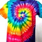 Tie Dye T-Shirt Size Large Rainbow Colors