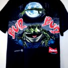 Vintage 1995 Budweiser Beer T-Shirt Size Large Frogs This Buds for You
