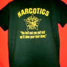 """Chicago Police NARCOTICS T-Shirt Size Large Funny """"You Huff and You Puff…."""""""