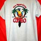 The Legendary Combo T-Shirt Size Large Parrot