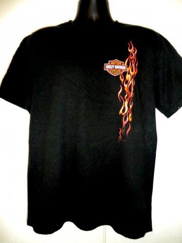 Harley Davidson Large Black T-Shirt Dealer ~ Parryville. PA