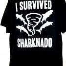 I SURVIVED SHARKNADO T-Shirt Size XL