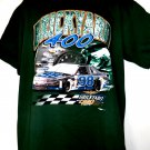 BRICKYARD 400 T-Shirt Size XL 8/1/1998