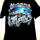 Vintage Harley Davidson ALASKA T-Shirt Size Large Anchorage House Of Harley