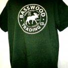 BASSWOOD TRADING T-Shirt Ely Minnesota MN BWCA Size Large Ski