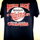 Vintage 1987 Minnesota Twins T-Shirt Size Large
