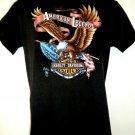 Rare Vintage 1987 Harley Davidson 3D T-Shirt Size Medium American Legend